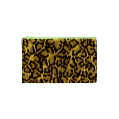 Seamless Animal Fur Pattern Cosmetic Bag (XS)