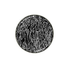 Gray Background Pattern Hat Clip Ball Marker