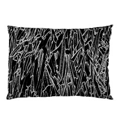 Gray Background Pattern Pillow Case (Two Sides)