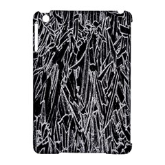 Gray Background Pattern Apple Ipad Mini Hardshell Case (compatible With Smart Cover)