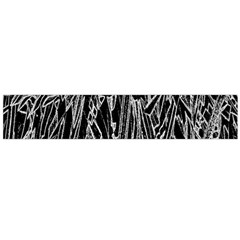 Gray Background Pattern Flano Scarf (large)