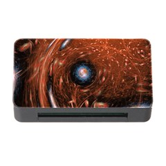 Fractal Peacock World Background Memory Card Reader with CF