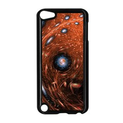 Fractal Peacock World Background Apple iPod Touch 5 Case (Black)