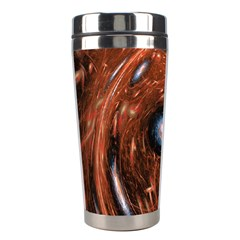 Fractal Peacock World Background Stainless Steel Travel Tumblers
