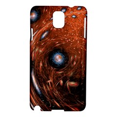 Fractal Peacock World Background Samsung Galaxy Note 3 N9005 Hardshell Case