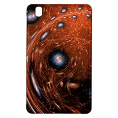 Fractal Peacock World Background Samsung Galaxy Tab Pro 8.4 Hardshell Case