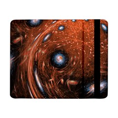 Fractal Peacock World Background Samsung Galaxy Tab Pro 8.4  Flip Case