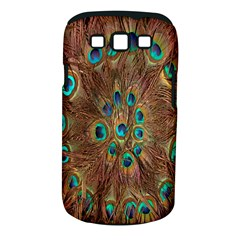 Peacock Pattern Background Samsung Galaxy S III Classic Hardshell Case (PC+Silicone)