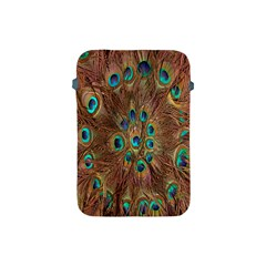 Peacock Pattern Background Apple iPad Mini Protective Soft Cases