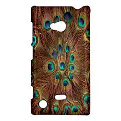 Peacock Pattern Background Nokia Lumia 720