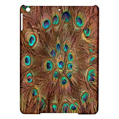 Peacock Pattern Background iPad Air Hardshell Cases
