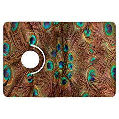 Peacock Pattern Background Kindle Fire HDX Flip 360 Case