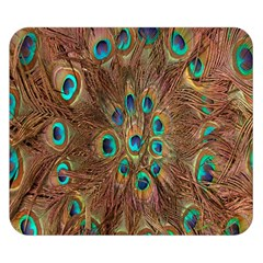 Peacock Pattern Background Double Sided Flano Blanket (small)