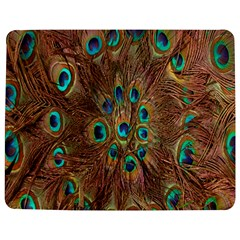 Peacock Pattern Background Jigsaw Puzzle Photo Stand (rectangular)