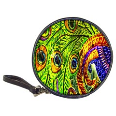 Glass Tile Peacock Feathers Classic 20-CD Wallets