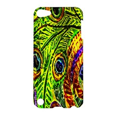 Glass Tile Peacock Feathers Apple iPod Touch 5 Hardshell Case