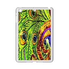 Glass Tile Peacock Feathers iPad Mini 2 Enamel Coated Cases