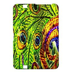 Glass Tile Peacock Feathers Kindle Fire Hd 8 9