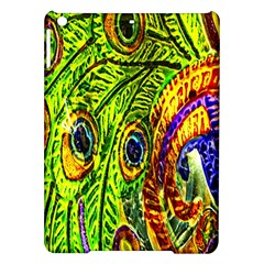 Glass Tile Peacock Feathers iPad Air Hardshell Cases