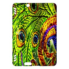 Glass Tile Peacock Feathers Kindle Fire HDX Hardshell Case