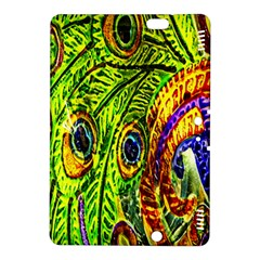 Glass Tile Peacock Feathers Kindle Fire Hdx 8 9  Hardshell Case