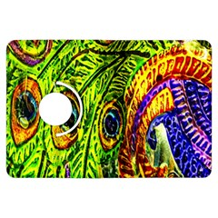 Glass Tile Peacock Feathers Kindle Fire HDX Flip 360 Case