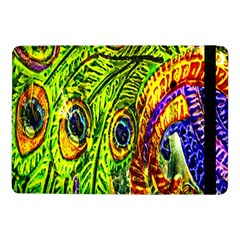 Glass Tile Peacock Feathers Samsung Galaxy Tab Pro 10.1  Flip Case