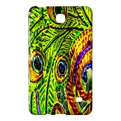 Glass Tile Peacock Feathers Samsung Galaxy Tab 4 (7 ) Hardshell Case