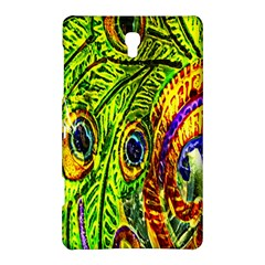 Glass Tile Peacock Feathers Samsung Galaxy Tab S (8 4 ) Hardshell Case