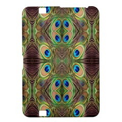 Beautiful Peacock Feathers Seamless Abstract Wallpaper Background Kindle Fire HD 8.9