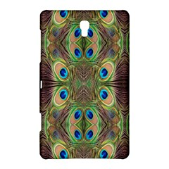 Beautiful Peacock Feathers Seamless Abstract Wallpaper Background Samsung Galaxy Tab S (8.4 ) Hardshell Case