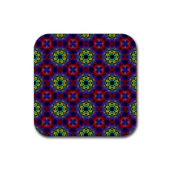 Abstract Pattern Wallpaper Rubber Coaster (Square)