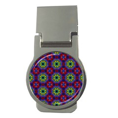 Abstract Pattern Wallpaper Money Clips (round)