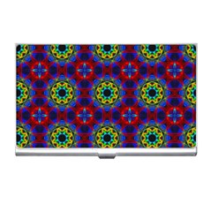 Abstract Pattern Wallpaper Business Card Holders