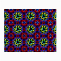 Abstract Pattern Wallpaper Small Glasses Cloth