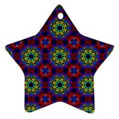 Abstract Pattern Wallpaper Star Ornament (Two Sides)