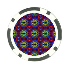 Abstract Pattern Wallpaper Poker Chip Card Guard (10 pack)