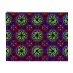 Abstract Pattern Wallpaper Cosmetic Bag (XL)