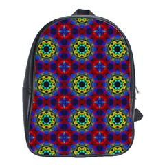 Abstract Pattern Wallpaper School Bags(large)