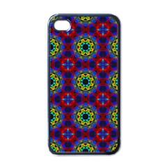 Abstract Pattern Wallpaper Apple Iphone 4 Case (black)