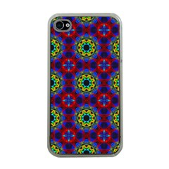 Abstract Pattern Wallpaper Apple iPhone 4 Case (Clear)