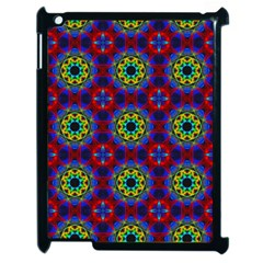 Abstract Pattern Wallpaper Apple iPad 2 Case (Black)