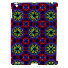 Abstract Pattern Wallpaper Apple iPad 3/4 Hardshell Case (Compatible with Smart Cover)