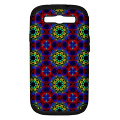 Abstract Pattern Wallpaper Samsung Galaxy S Iii Hardshell Case (pc+silicone)