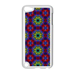 Abstract Pattern Wallpaper Apple iPod Touch 5 Case (White)