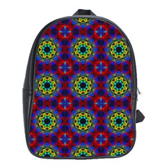 Abstract Pattern Wallpaper School Bags (XL)