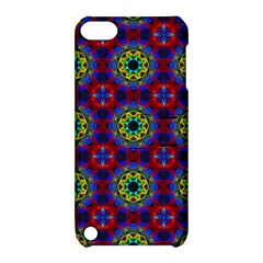 Abstract Pattern Wallpaper Apple iPod Touch 5 Hardshell Case with Stand