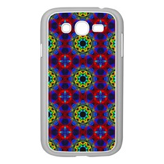 Abstract Pattern Wallpaper Samsung Galaxy Grand DUOS I9082 Case (White)