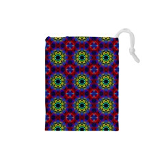 Abstract Pattern Wallpaper Drawstring Pouches (Small)