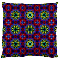 Abstract Pattern Wallpaper Large Flano Cushion Case (One Side)